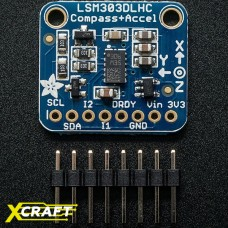 Triple-axis Accelerometer+ Magnetometer (Compass) Board - LSM303