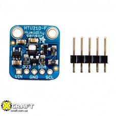 Adafruit HTU21D-F датчик температуры и влажности