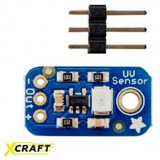 Аналоговый датчик ультрафиолета - GUVA-S12SD