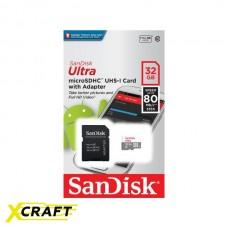 SANDISK ULTRA MicroSDHC 32Gb 10Class