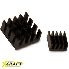 Радиаторы для Raspberry Pi алюминиевые черные