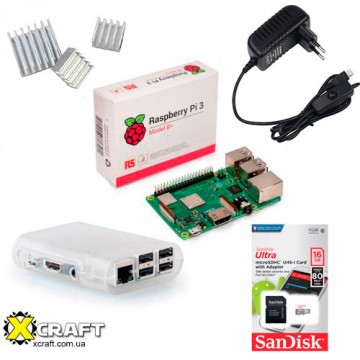 Стартовый набор Raspberry Pi 3 Model B+